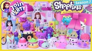 Shopkins Topkins Season 7 Party Toffee Pug's Birthday Lego Friends Silly Play - Kids Toys