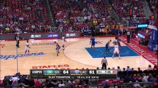 getlinkyoutube.com-Chris Paul Full Highlights vs Warriors 2014 Playoffs West R1G1 - 28 Pts, 8 Ast
