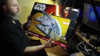 "getlinkyoutube.com-Revell/finemolds 1/72 ""Master Series"" Millennium Falcon. UNBOXING & OUT OF BOX REVIEW!"