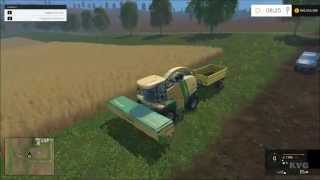 getlinkyoutube.com-Farming Simulator 15 - Krone BiG X 1100 Harvester Gameplay (PC HD) [1080p]