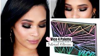 getlinkyoutube.com-Urban Decay Vice 4 Palette Makeup Tutorial & Mini Review Fall Makeup Tutorial  MissLizHeart