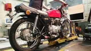 getlinkyoutube.com-YOSHIMURA JAPAN ヨシムラ CB400FOUR レーシング手曲ストレートサイクロン 2013