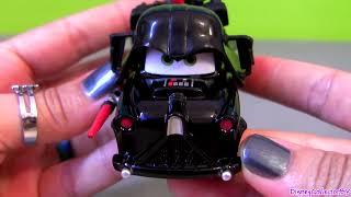 getlinkyoutube.com-Disney CARS STAR WARS WEEKENDS Jedi Luke Skywalker as Lightning McQueen & Mater as Darth Vader