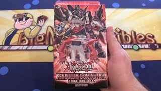 getlinkyoutube.com-Yugioh Pendulum Domination Structure Deck Unboxing - New D/D/D Fusion & Synchro!