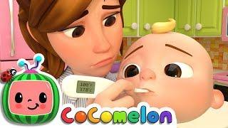 Sick Song | ABCkidTV Nursery Rhymes & Kids Songs width=