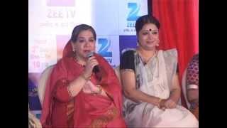 getlinkyoutube.com-Zee TV launches New Show | Satrangi Sasural! | Funny | Comedy |Farida Jalal