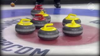 getlinkyoutube.com-Curling Night In America | USA vs. Japan Mixed Doubles Highlights
