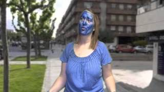 getlinkyoutube.com-Blue POP! Unseen Human Test Video