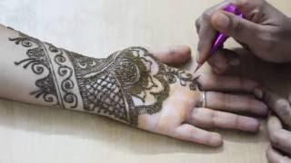 getlinkyoutube.com-Mehandi Design Front Hand Video 24 - ILoveMehandi.TV