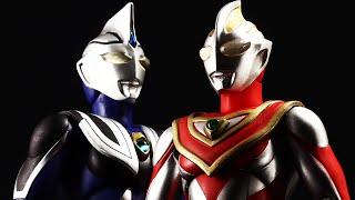 getlinkyoutube.com-ULTRA-ACT ウルトラマンガイア & ウルトラマンアグル Ultraman Gaia & Ultraman Agul