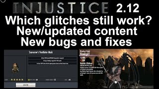 getlinkyoutube.com-Injustice Mobile Update 2.12: Which glitches still work, new content, bugs and fixes