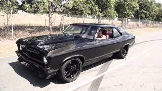 getlinkyoutube.com-KAM NOVA -  Twin supercharged V8 Chevy Nova
