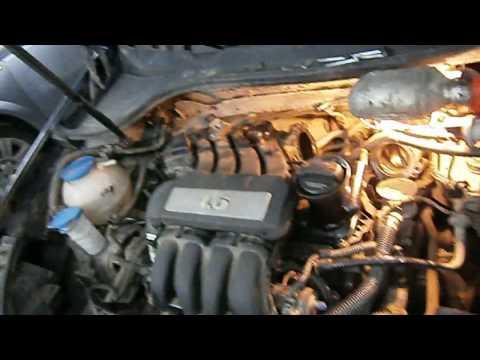 Двигатель 1.6 BSE (VW, Skoda) Замена прокладки клапанной крышки и свечей зажигания.