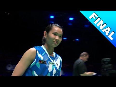 Yonex All England Open 2017 | Badminton F | Tai Tzu Ying vs Ratchanok Intanon