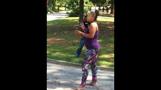 Juss Another Day IN The Hood (FIGHT!!)
