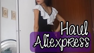 getlinkyoutube.com-Haul Aliexpress vestidos, faldas | TRY ON