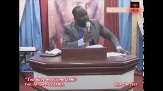 "getlinkyoutube.com-Pasteur Atapis Ngyamba ""Vous les avez vaincus"""
