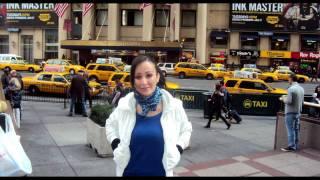 Kenza Farah à New York