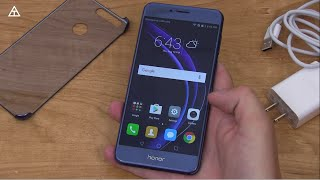 Honor 8 Unboxing
