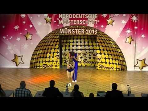 Jana-Simone Scheffler & Tobias Neumann - Norddeutsche Meisterschaft 2013