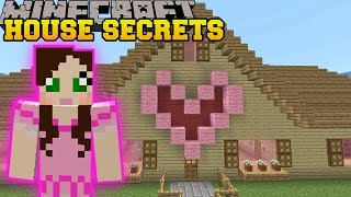 getlinkyoutube.com-Minecraft: SECRETS IN MY HOUSE!! - FIND THE BUTTON PAT & JEN EDITION - Custom Map