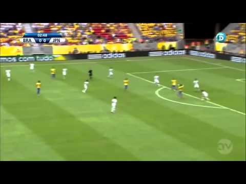 Neymar Goal barcelona Football 2014