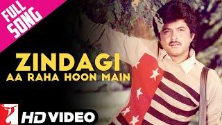 Zindagi Aa Raha Hoon Mein - Full Song HD   Mashaal   Anil Kapoor   Kishore Kumar width=