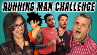 getlinkyoutube.com-Adults React to Running Man Challenge Vine Compilation (ft. SING IT! Cast)