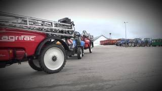 The three new Agrifac Milan trailed sprayer from AgroEast (PL)