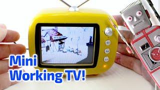 getlinkyoutube.com-2009 Working Miniature TV SET by Greenhouse, China