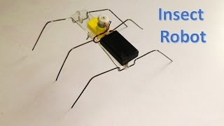 getlinkyoutube.com-How to make six legged insect robot - DIY Robot
