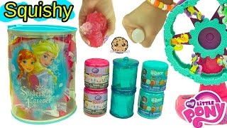 getlinkyoutube.com-Squishy Fashems Mashems Surprise Blind Bags of Finding Dory, My Little Pony MLP Toys