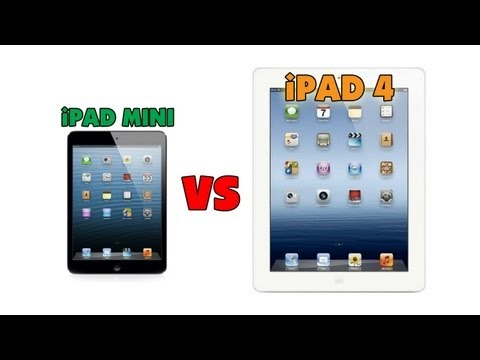 Apple iPad Mini vs iPad 4 -Vubw_hV6WFs