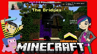 getlinkyoutube.com-Minecraft - The Bridges with Gamer Chad Alan Online Game Play