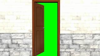 getlinkyoutube.com-door opens camera goes into - green screen effects