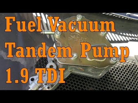 VW Passat B5 Diesel 1.9 TDI AVF Fuel Vacuum Tandem Pump.Engine wouldn't start Volkswagen