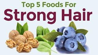 getlinkyoutube.com-Top 5 Foods To Prevent Hair Loss - Best Diet For Hair Loss In Men & Women