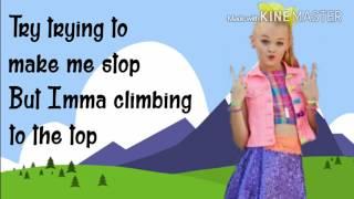BOOMERANG   Jojo Siwa   Lyrics Video (3 CLS #1 Favorite Jo Jo Video)