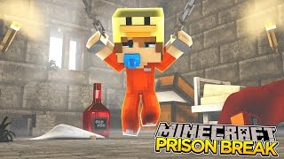 getlinkyoutube.com-Minecraft PRISON BREAK - BABY DUCK GETS LOCKED UP!!!
