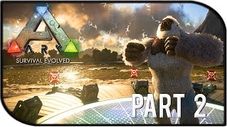 """getlinkyoutube.com-ARK: Survival of the Fittest THE LAST STAND Gameplay Part 2 - """"Taming Begins!"""""""