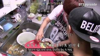 getlinkyoutube.com-[HD繁中字] 1st BTS Birthday Party (Jin chef of BTS)*校正版*