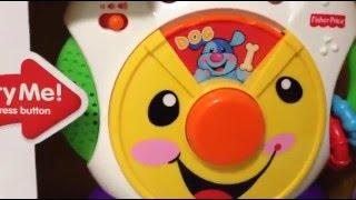 getlinkyoutube.com-Fisher Price Laugh & Learn Nursery Rhymes CD Player toy unboxing