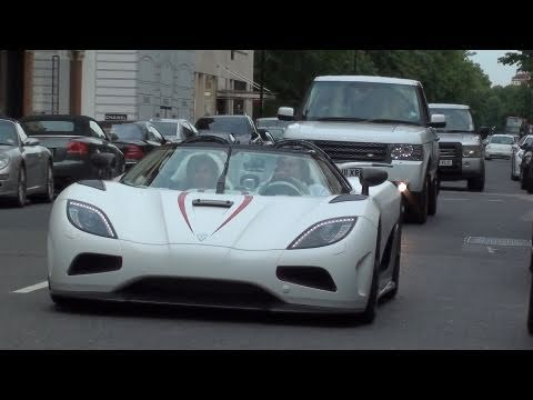 Koenigsegg Agera R Sounds On The Road