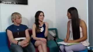 getlinkyoutube.com-Hangout Live with Ross Lynch & Laura Marano!
