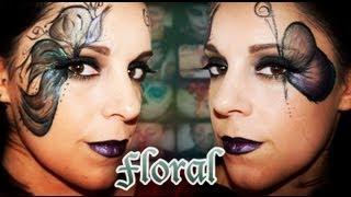 getlinkyoutube.com-Maquillaje Carnaval: Floral, Fantasía #16 | Silvia Quiros