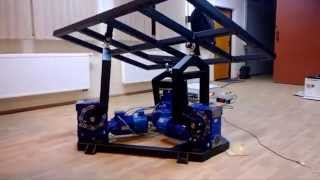 getlinkyoutube.com-Motion Platform 3DoF - 750 kg (PS-3TM-750)