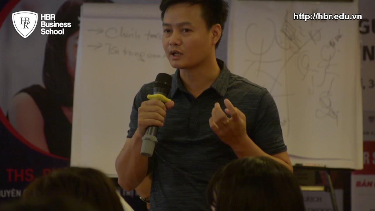 Cảm nhận học viên trường doanh nhân HBR - Giám đốc Kids Plaza chia sẻ về quản trị nhân sự