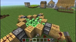 getlinkyoutube.com-Minecraft: 10 ways to kill a creeper
