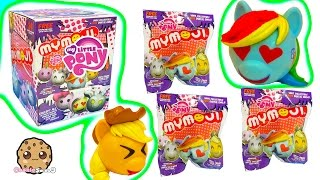 getlinkyoutube.com-Full Box of 24 My Little Pony MyMojis Surprise Blind Bags |  MLP Ball Heads Toy Unboxing Video