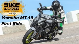 getlinkyoutube.com-Yamaha MT-10 Review | First Ride